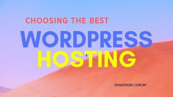 Choosing Best and Cheapest Web Hosting for WordPress