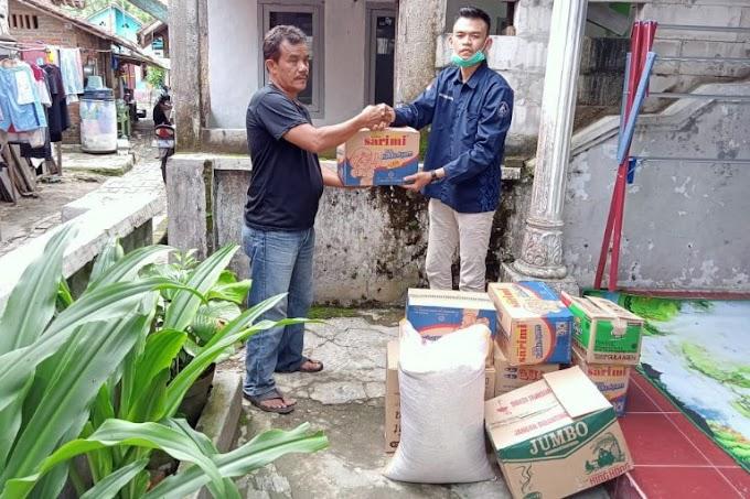HMB Lampung Salurkan Bantuan Sembako kepada Korban Banjir di Lebak