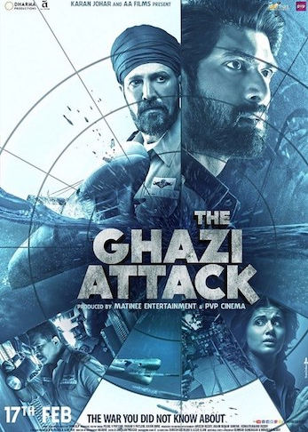 The Ghazi Attack 2017 Hindi pDVDRip x264 700MB