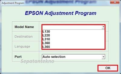 Beberapa waktu yang lalu kami mengalami masalah pada printer Epson L Cara Reset Epson L130 L220 L310 L350 L365 Download Gratis Free
