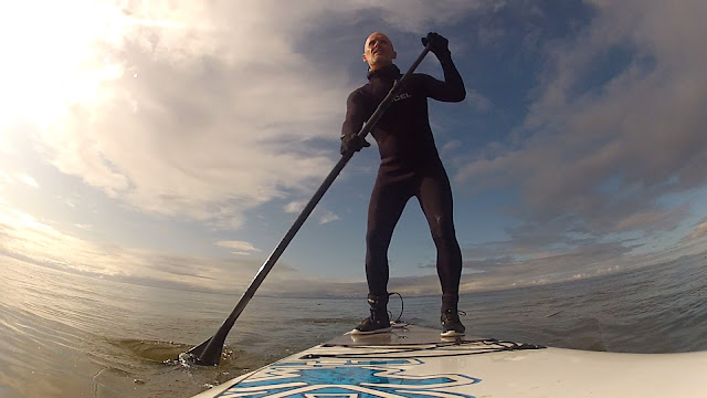 Surfing at Vancouver Island's Jordan River...
