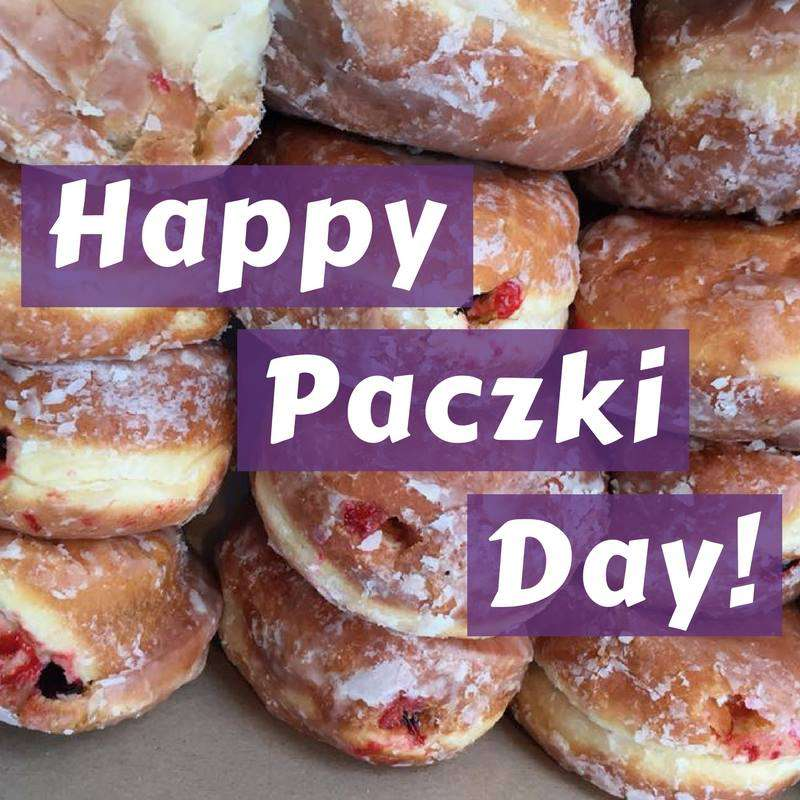 Paczki Day Wishes Awesome Picture
