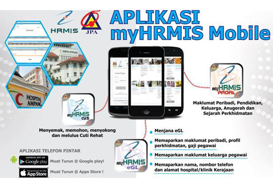Aplikasi HRMIS Mobile Android - iOS