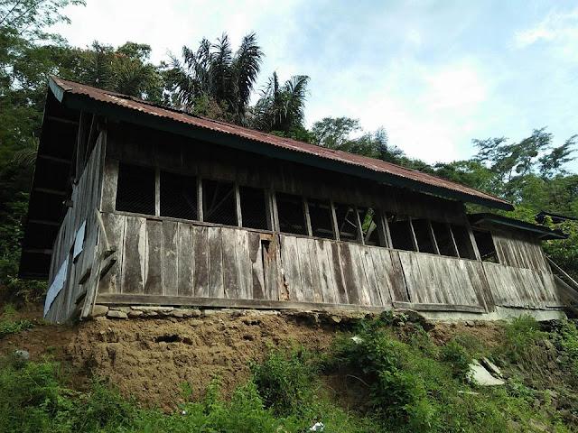 Tak Punya Dana, Gereja Sapan Sado'ko' ini Pakai Batang Kayu Sebagai Kursi