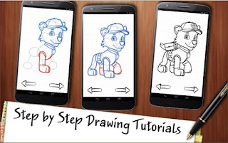 Game Draw Paw Patrol App