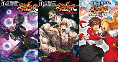Street Fighter videojuego comics