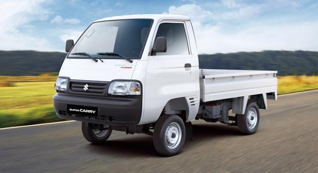 Penampakan Suzuki Carry Pick Up Yang Berubah Drastis