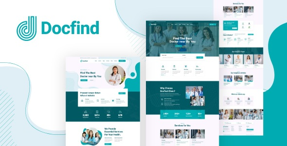 Best Doctors directory and Book Online XD Template