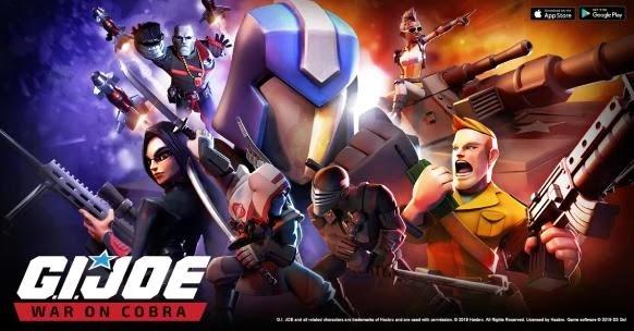 تحميل لعبة G.I. Joe: War On Cobra للاندرويد