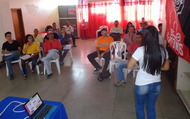 Realizado taller de Propaganda y Corresponsalia en Barquisimeto