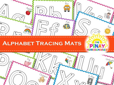 Alphabet Tracing Mats (Uppercase and Lowercase)