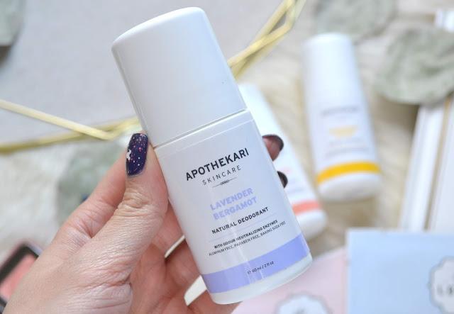 Apothekari Natural Deodorant