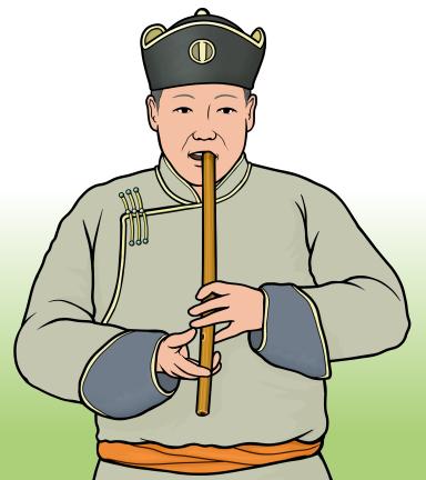 ツォウルは、モンゴルやトゥバなどの笛