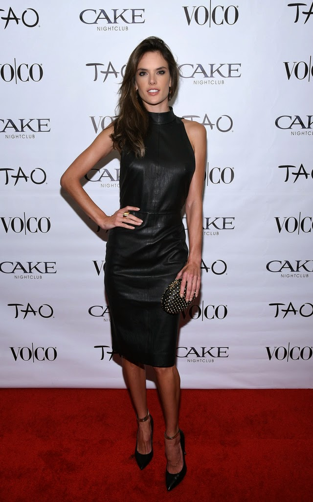 Alessandra Ambrosio hosts the VOCO Vodka Coconut Water Party in Scottsdale