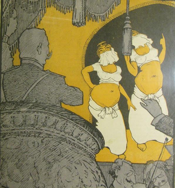 карикатуры 1909 года