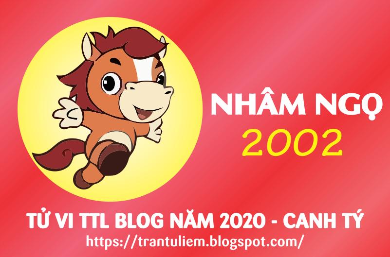 TỬ VI TUỔI NHÂM NGọ 2002 NĂM 2020