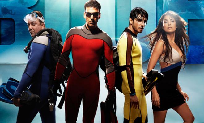 Indian Hindi Bollywood Movie Blue 2009