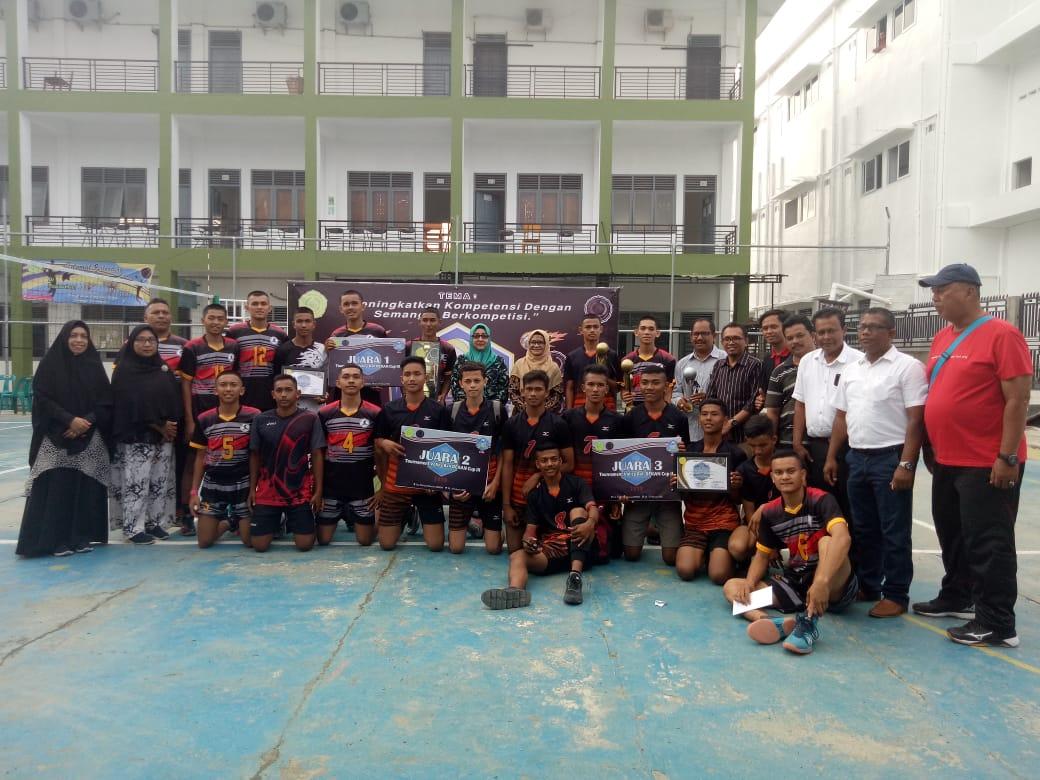 Man 1 Aceh Besar Raih Juara 3 Volly Ball Lamuri Online