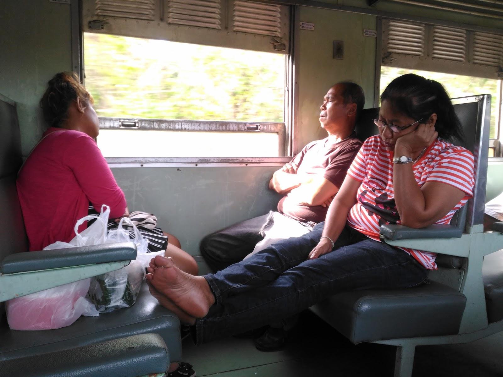 жена в юбочке в поезде