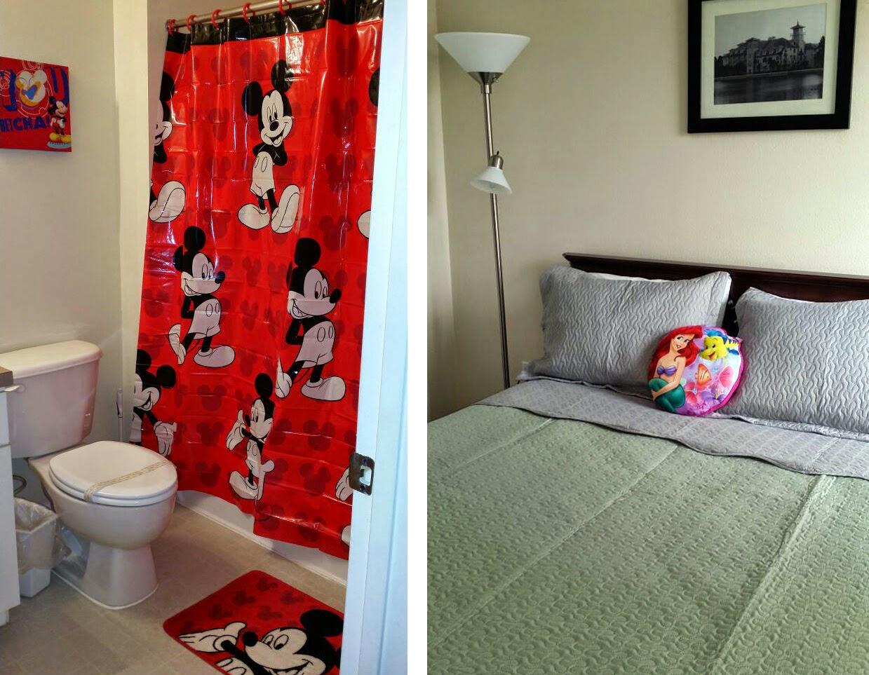 Decoração da Disney Casa Terra Verde Resort