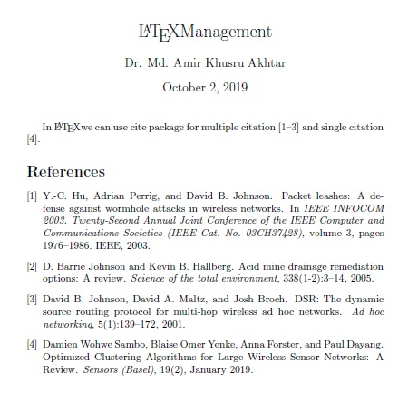 Latex Tutorial Bibliography In Latex