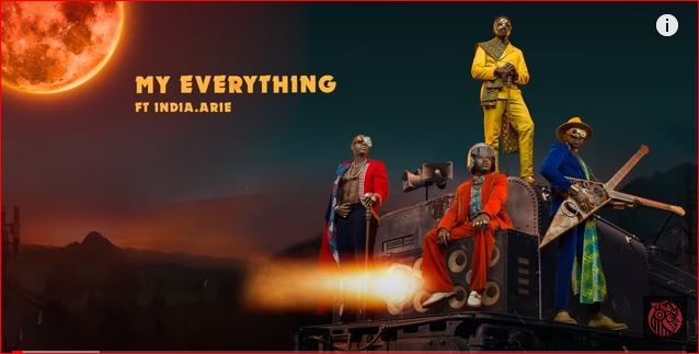 Sauti Sol - My Everything ft. India Arie