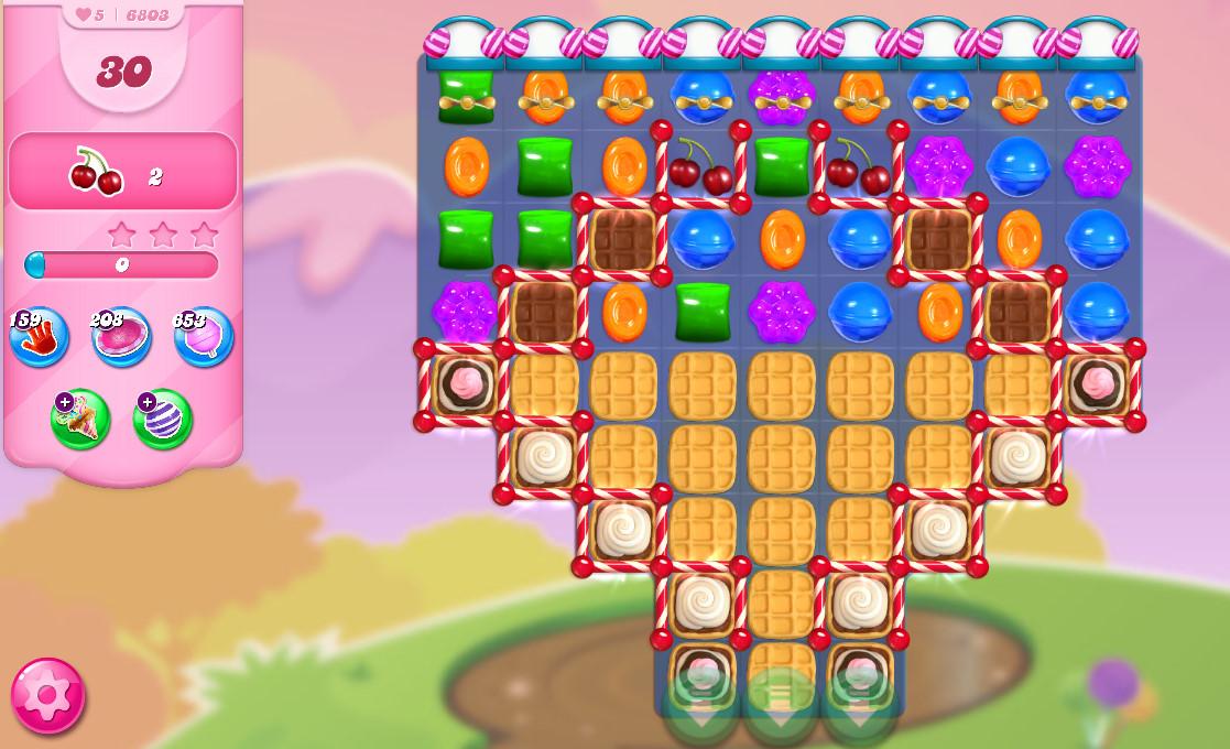 Candy Crush Saga level 6803