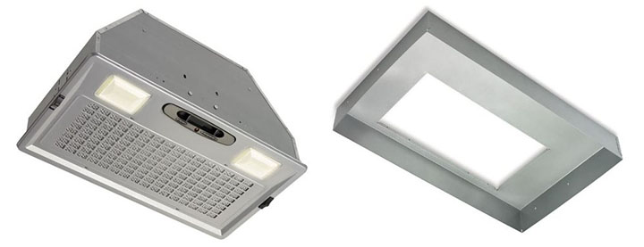 range hood insert and liner for DIY projects