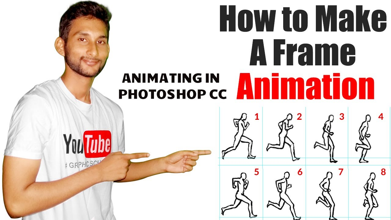 How to Make a Frame Animation in Photoshop   Animating in Photoshop ...