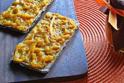 Dżem dyniowo - pomarańczowy ze skórką
