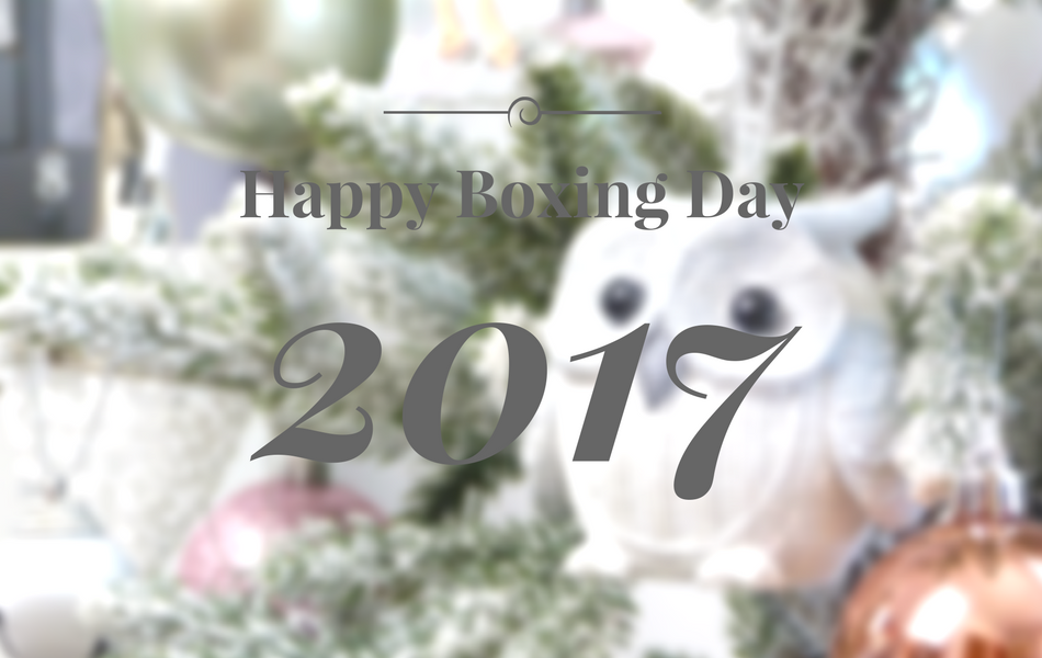 an image of Happy Boxing Day 2017