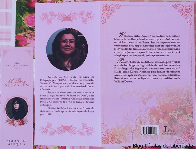 sinopse, Familia-Davon, livro, A-Rosa-Selvagem, Simone-O-Marques, Ler-Editorial
