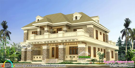 Colonial style 5 bedroom luxury residence