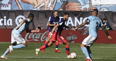 ملخص واهداف مباراة اتلتيكو مدريد وسيلتا فيجو (2-1) الدوري الاسباني