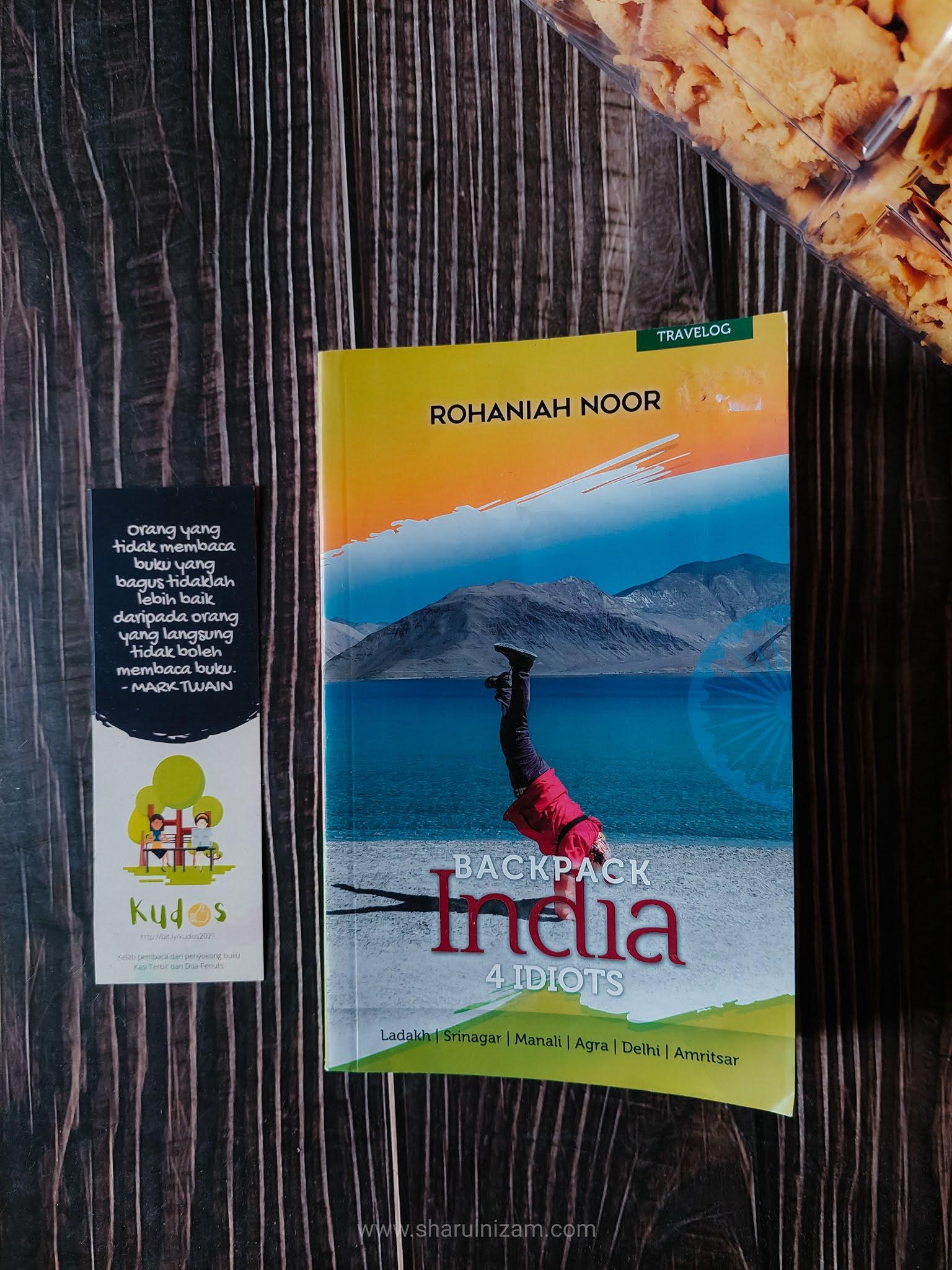 Backpack India 4 Idiots (Oleh Rohaniah Noor)