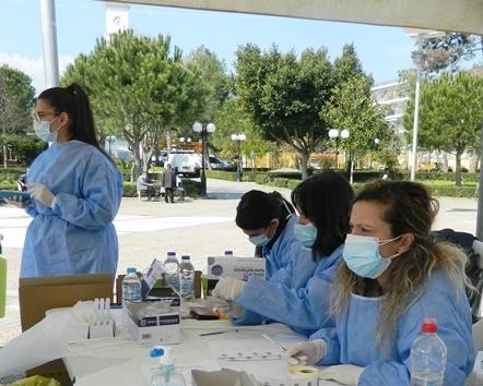 Τεστ γρήγορης ανίχνευσης αντιγόνων covid-19 (rapid tests) την Παρασκευή  στην κεντρική πλατεία της Μεσσήνη