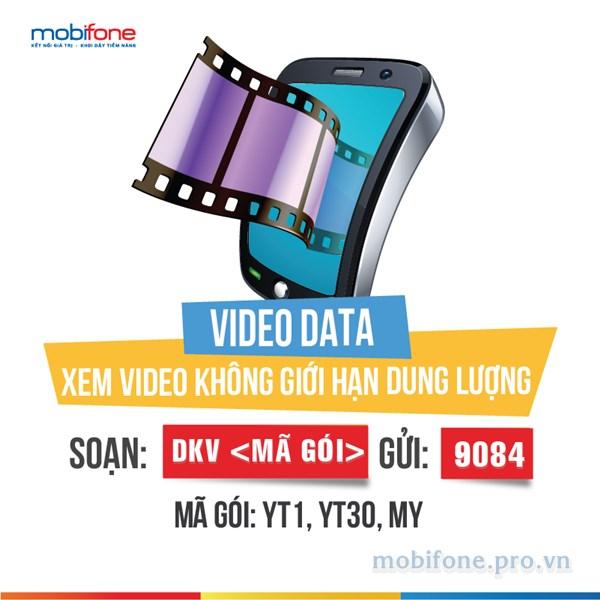 Đăng ký gói cước Youtube Mobifone - Dịch vụ Video data