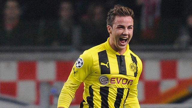 Gotze Resmi Kembali ke Dortmund