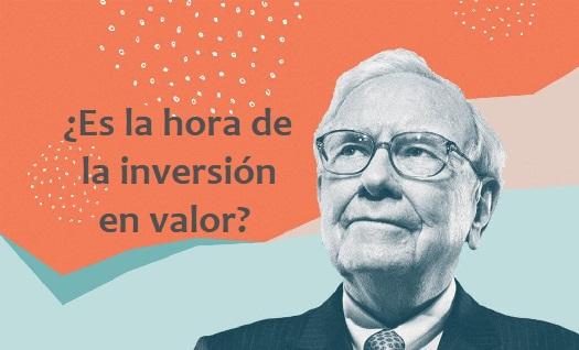 ¿Es la hora de la inversión en valor?