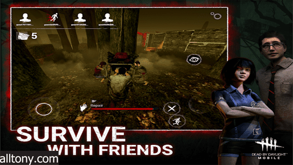 تحميل لعبة الرعب DEAD BY DAYLIGHT للأيفون والأندرويد APK رابط مباشر