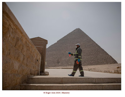 Sensitizing the Great Pyramid of Giza by Roger Anis