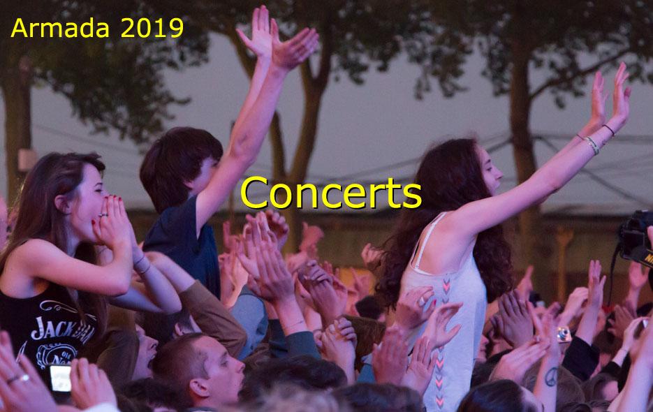 Les concerts gratuits de la Région pour l'Armada de Rouen 2019