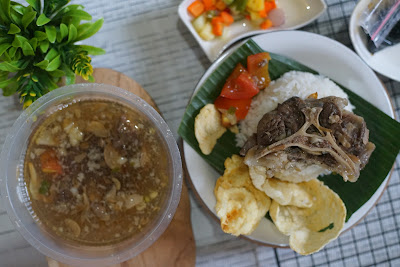 Sup buntut Golden Tulip Chef Sidiq