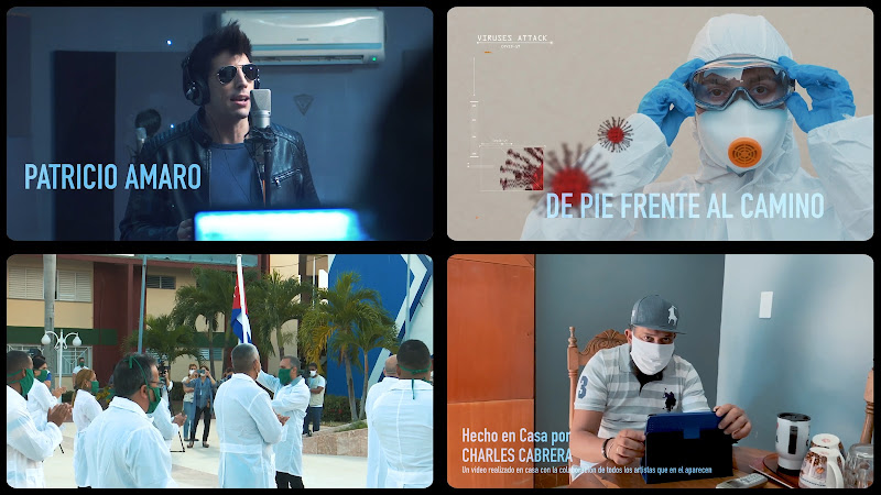 Patricio Amaro - ¨De pie frente al camino¨ - Videoclip - Director: Charles Cabrera. Portal Del Vídeo Clip Cubano