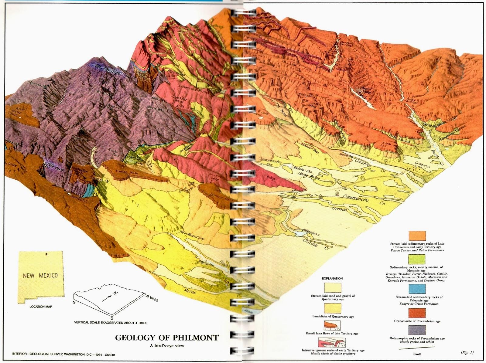 Philmont New Mexico Map.Filiopietism Prism Those Places Thursday January 30 2014