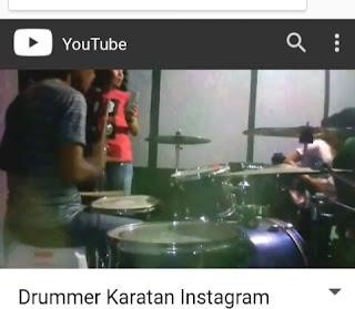 Drummer karatan instagram