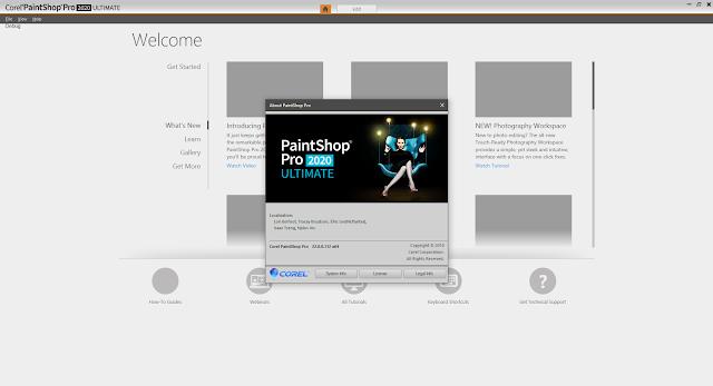Screenshot Corel PaintShop Pro Ultimate 2020 v22.0.0.112 Full Version