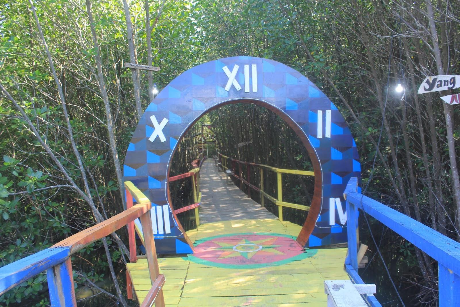 Pintu Masuk Menuju Kawasan Mangrove Sekotong Tengah
