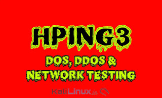 hping3 kali linux dos and ddos