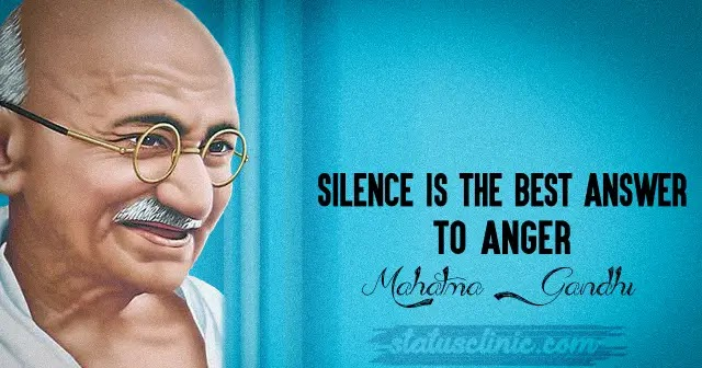 Mind Blowing Gandhiji Quotes In English For Motivation Status Clinic